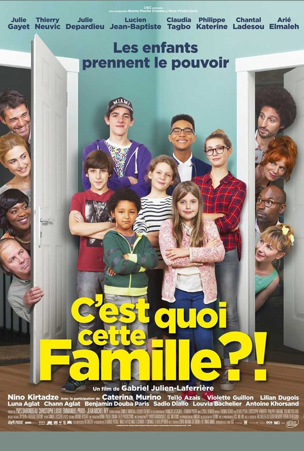 "Novo poster para ""C'est quoi cette famille?!"""