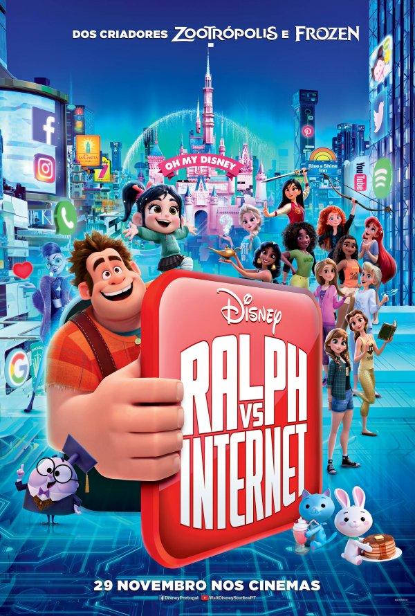 Cinema in Lagos - Força Ralph: Ralph vs Internet / Ralph Breaks the Internet