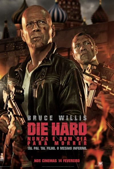 """Novo poster português para """"Die Hard - Nunca é Bom Dia Para Morrer"""" (A Good Day to Die Hard)"""