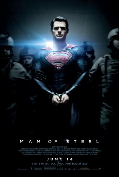 """Novo poster para """"Homem de Aço"""" (Man of Steel)"""