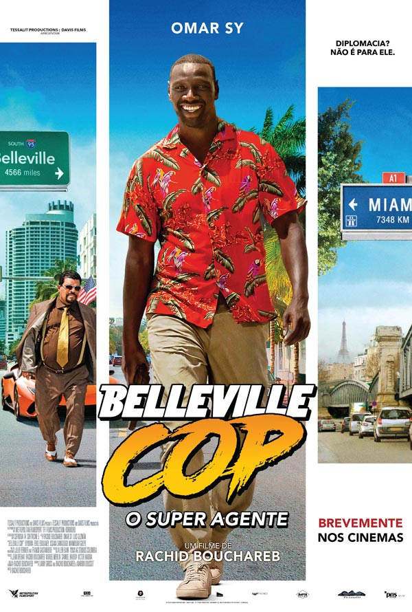 Cinema in Lagos - Belleville Cop - O Super Agente / Le Flic de Belleville