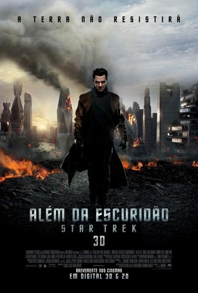 """Novo poster português para """"Além da Escuridão: Star Trek"""" (Star Trek into Darkness)"""
