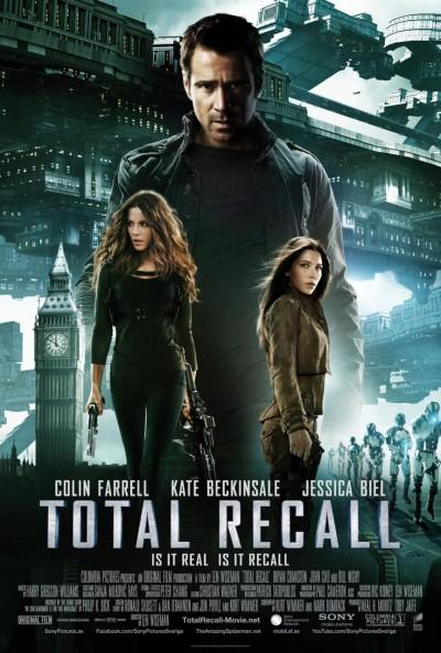 Poster Desafio Total / Total Recall (2012)