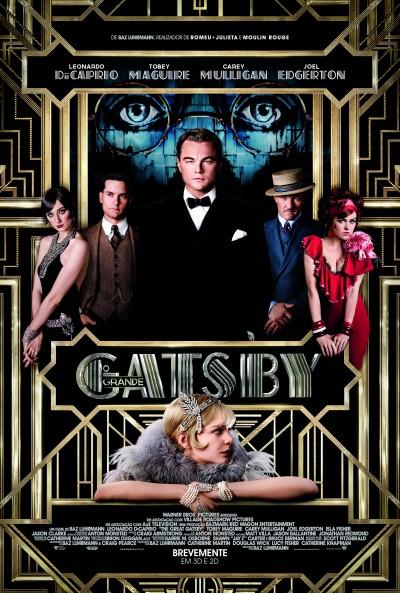 """Novo poster português para """"O Grande Gatsby"""" (The Great Gatsby)"""