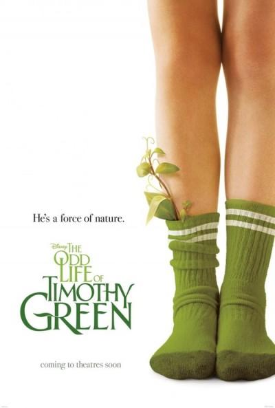"""Nova data de estreia: """"The Odd Life of Timothy Green"""""""