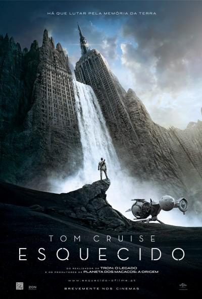 """Novo poster português para """"Esquecido"""" (Oblivion)"""