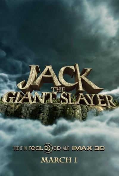 """Novo poster para """"Jack o Caçador de Gigantes"""" (Jack the Giant Slayer)"""