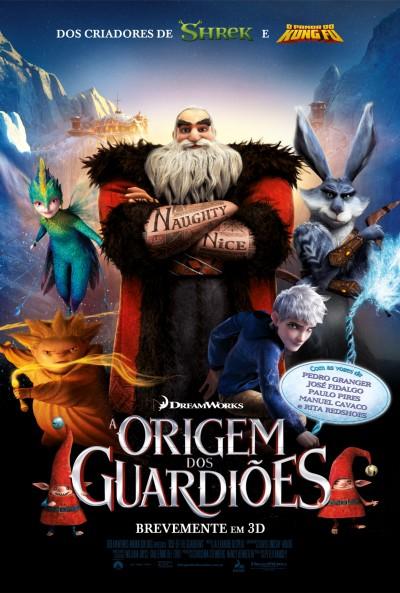 Poster A Origem dos Guardiões / Rise of the Guardians (2012)