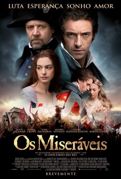 "Novo poster português para ""Os Miseráveis"" (Les Miserables)"