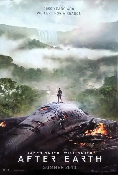 """Novo poster para """"Depois da Terra"""" (After Earth)"""