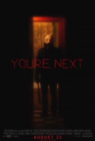"Novo poster para ""You're Next"""