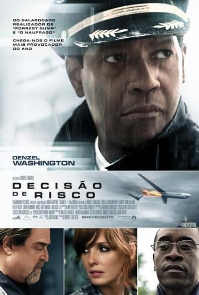 Poster Decisão de Risco / Flight (2012)