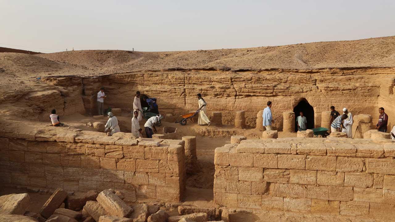 Faraós Negros: O Império do Ouro