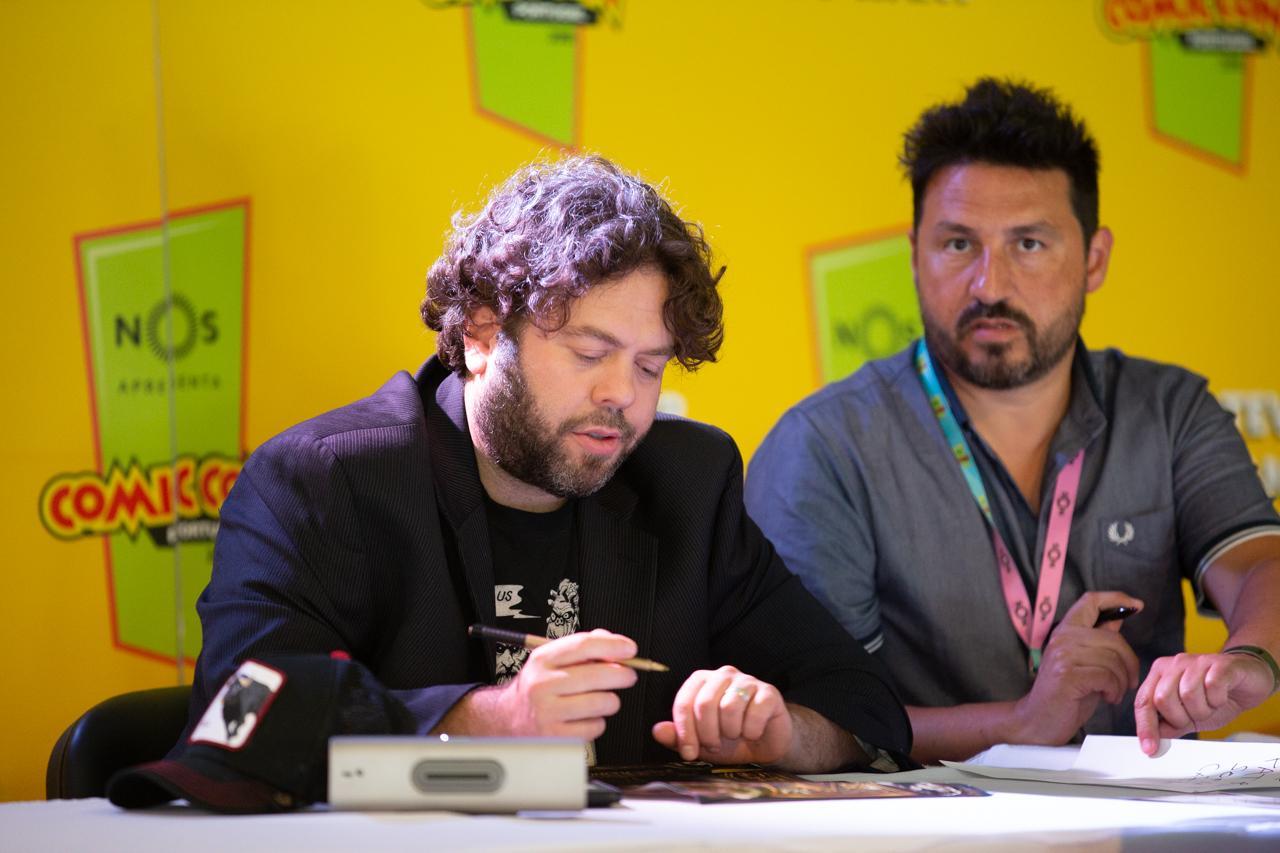 Comic Con Portugal 2018 (2º dia - 7 de setembro) 21/26: Dan Fogler