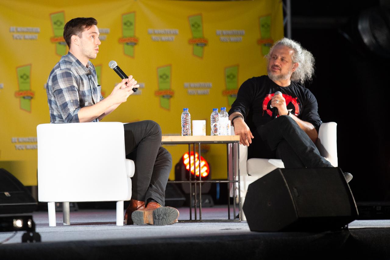 Comic Con Portugal 2018 (2º dia - 7 de setembro) 22/26: Nicholas Hoult