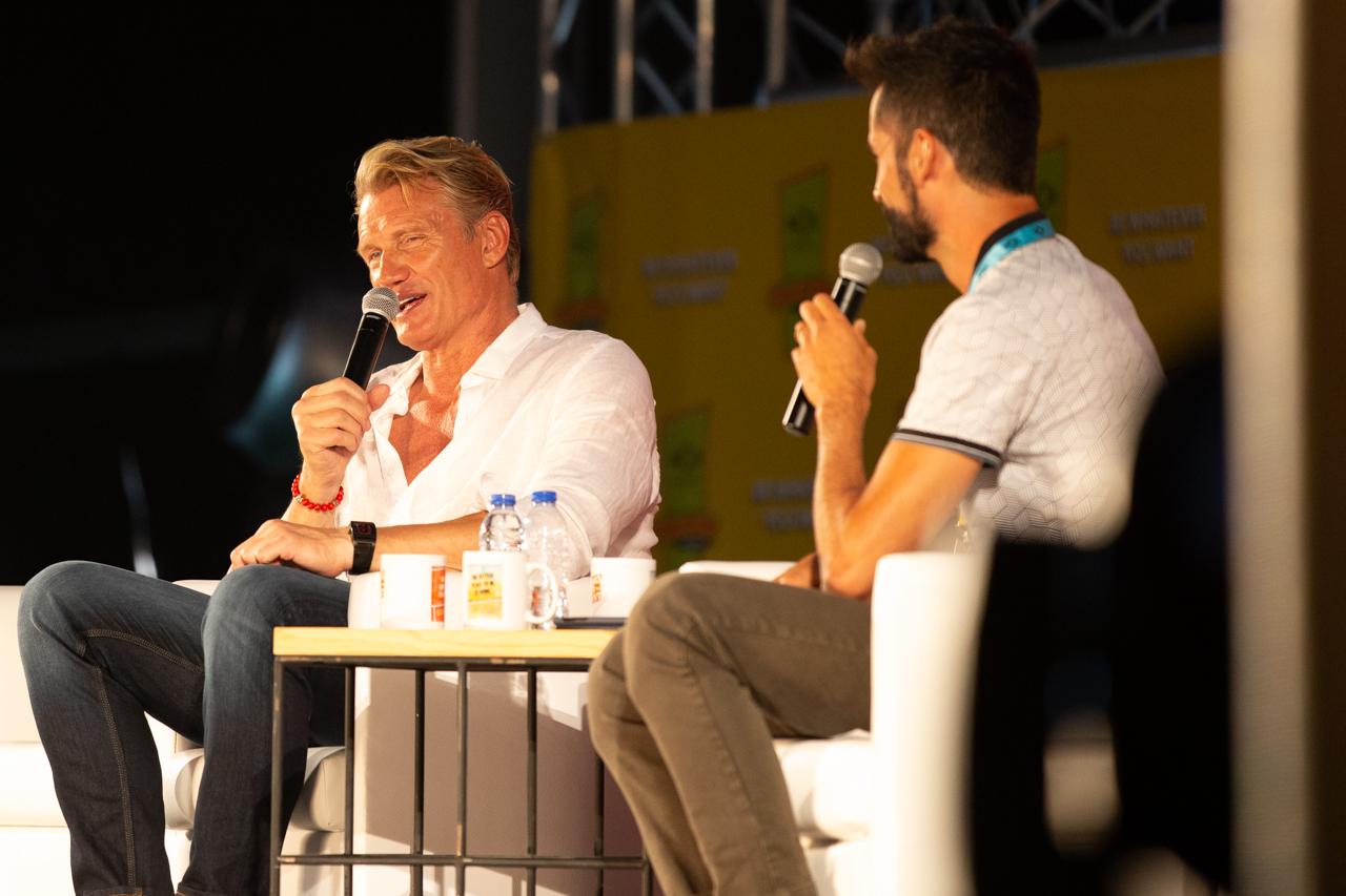Comic Con Portugal 2018 (ambiente e painéis 3º dia - 8 de setembro) 3/15: Dolph Lundgren