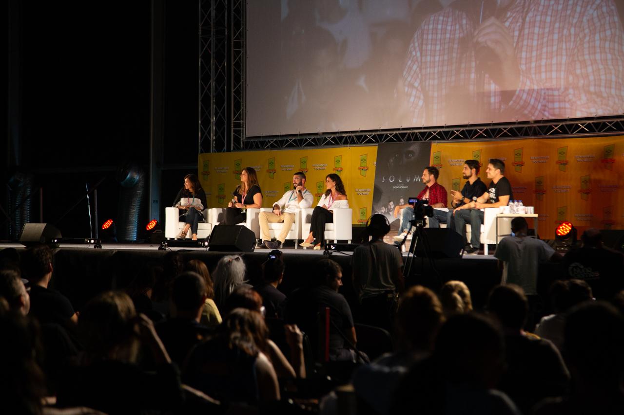 """Comic Con Portugal 2018 (ambiente e painéis 3º dia - 8 de setembro) 9/15: Apresentação """"Solum"""""""