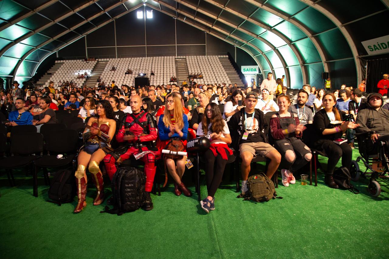 """Comic Con Portugal 2018 (ambiente e painéis 3º dia - 8 de setembro) 10/15: Apresentação """"Solum"""""""
