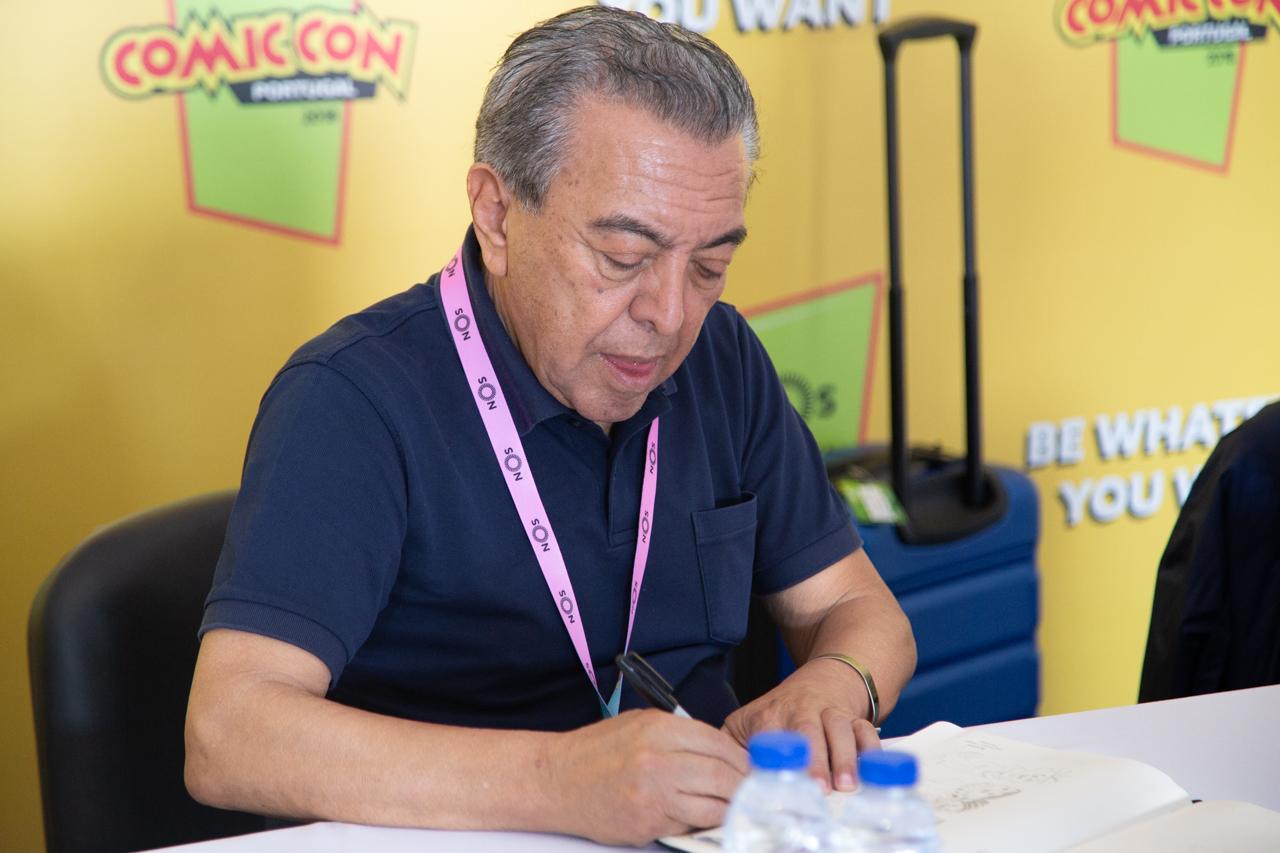 Comic Con Portugal 2018 (ambiente e painéis 3º dia - 8 de setembro) 12/15: Maurício de Sousa sessão de autógrafos