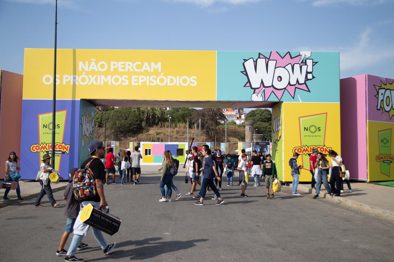 Comic Con Portugal 2018 (ambiente e painéis 3º dia - 8 de setembro) 14/15