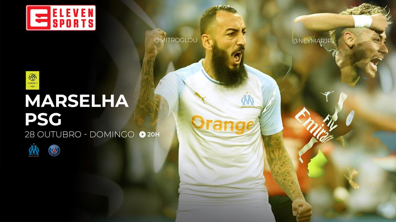 Eleven Sports Portugal oferece transmissão do Marselha-PSG em direto no Facebook