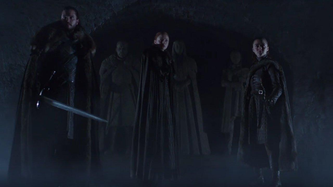 """""""A Guerra dos Tronos: revelada a data de estreia da última temporada"""