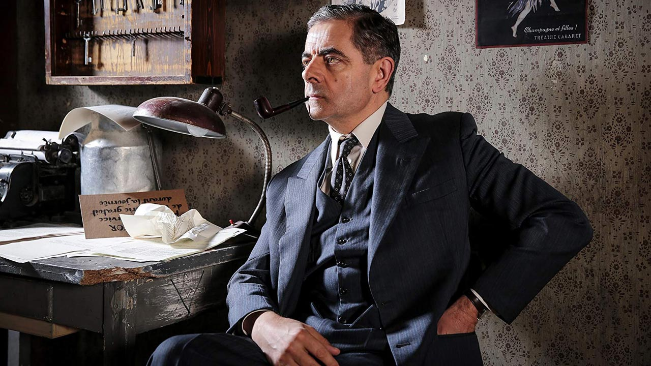 Rowan Atkinson como Maigret no FOX Crime