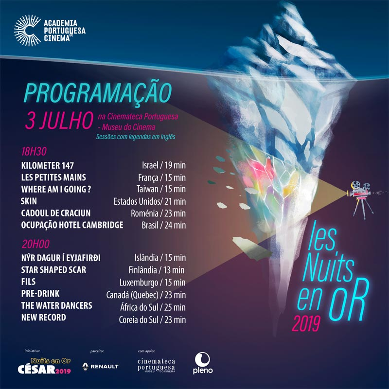 "Programação ""Les Nuits en Or"" 1/3"