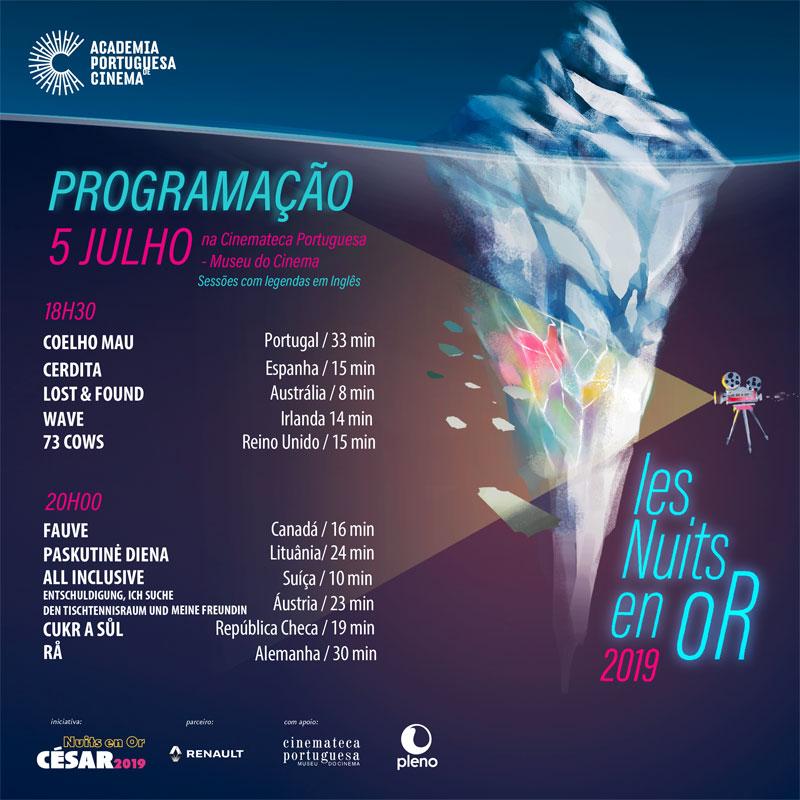 "Programação ""Les Nuits en Or"" 3/3"