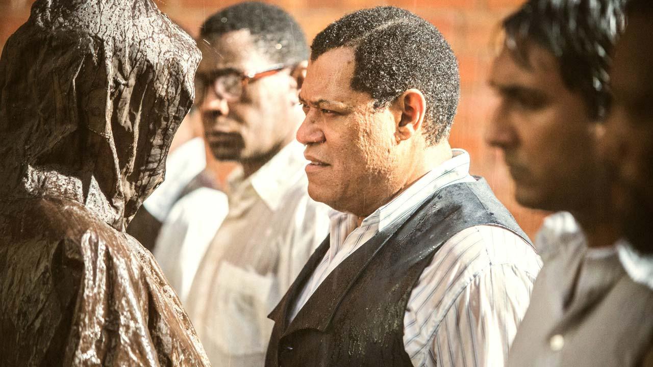 "Laurence Fishburne é Nelson Mandela na minissérie ""Madiba"""