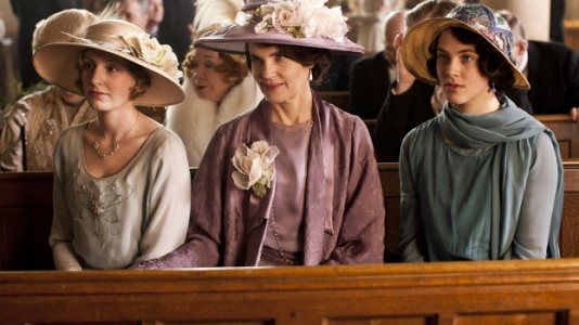 "Estreia da terceira temporada de ""Downton Abbey"""
