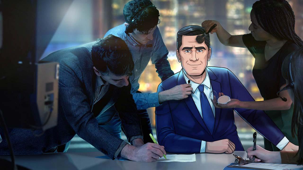 Novo programa de Stephen Colbert é um talk show mas em desenhos animados