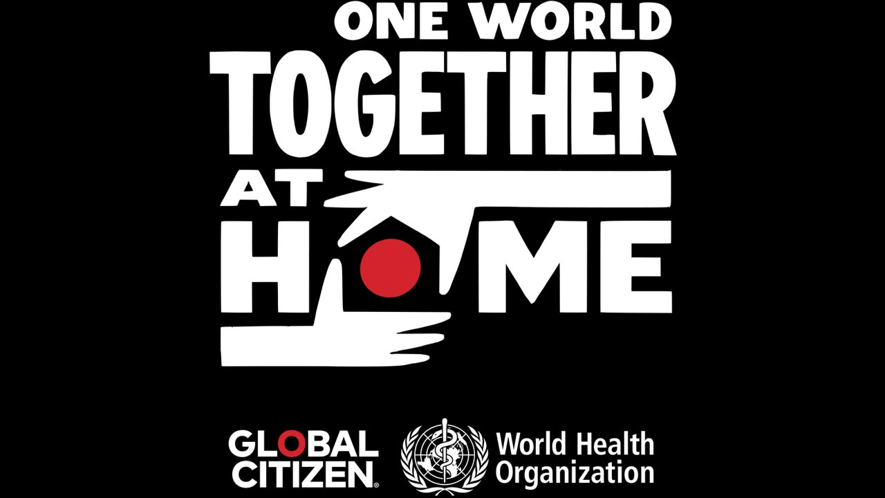 """Evento mundial """"One World: Together at Home"""" une artistas na luta contra o Covid-19"""