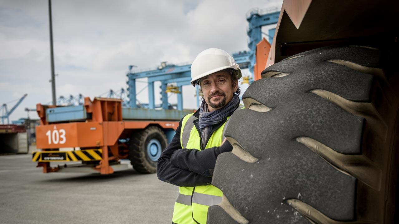 Richard Hammond em tamanho grande a partir de abril no Discovery