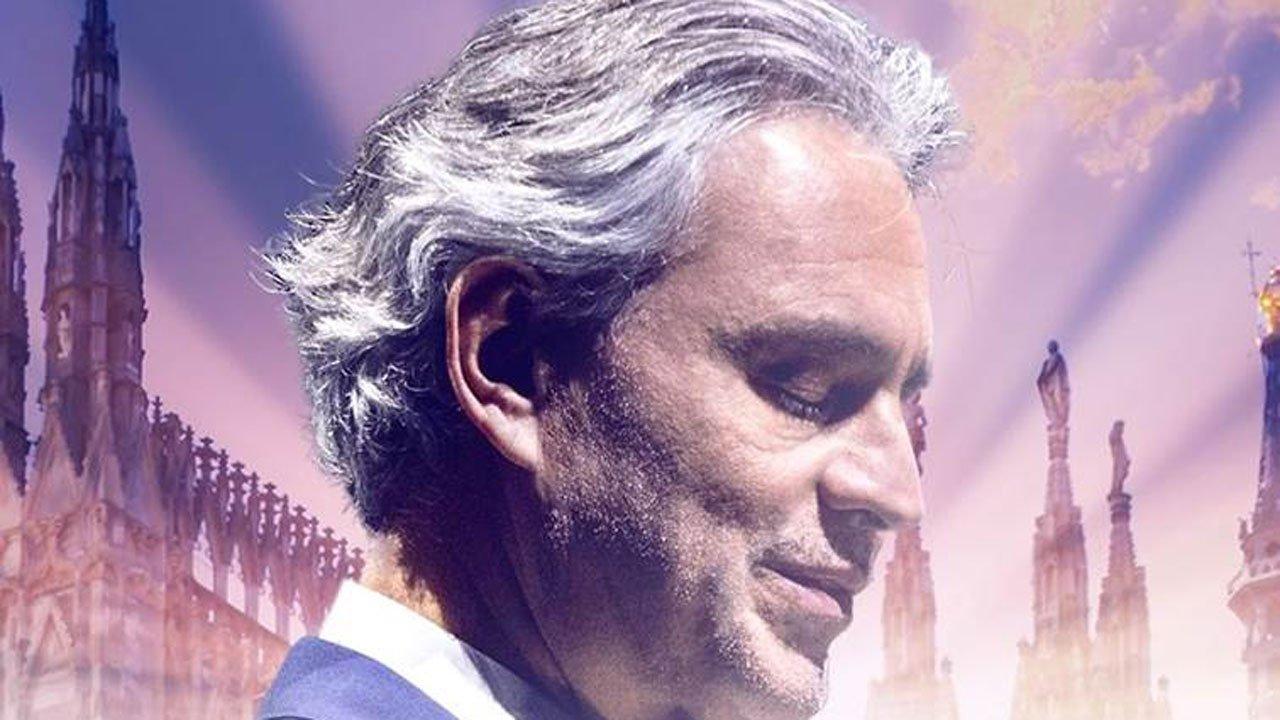 Concerto de Andrea Bocelli na Catedral de Milão emitido na RTP1