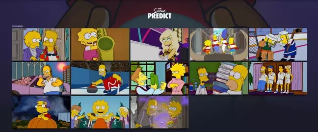 The Simpsons Predict