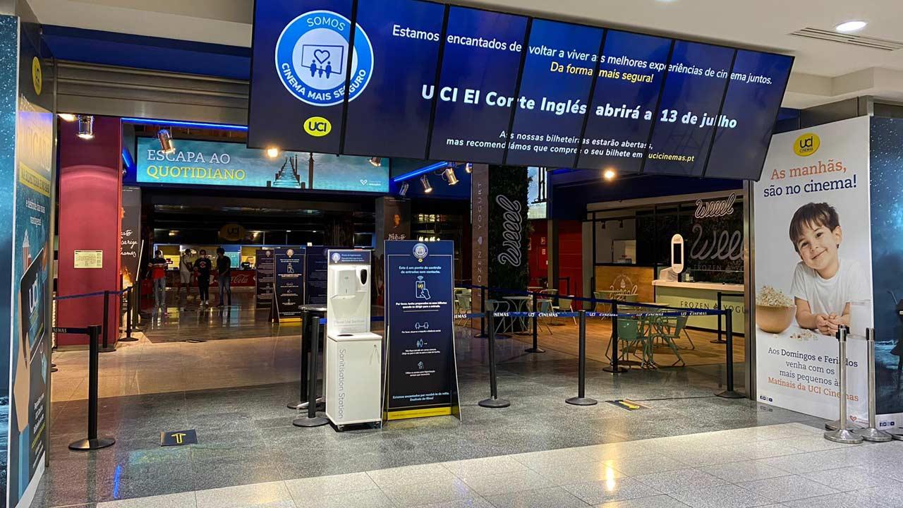 UCI Cinemas reabre salas do El Corte Inglés