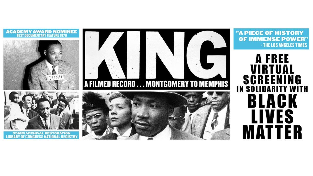 """O Arquivo da semana: """"King: A Filmed Record..."""": disponível na íntegra e gratuitamente"""
