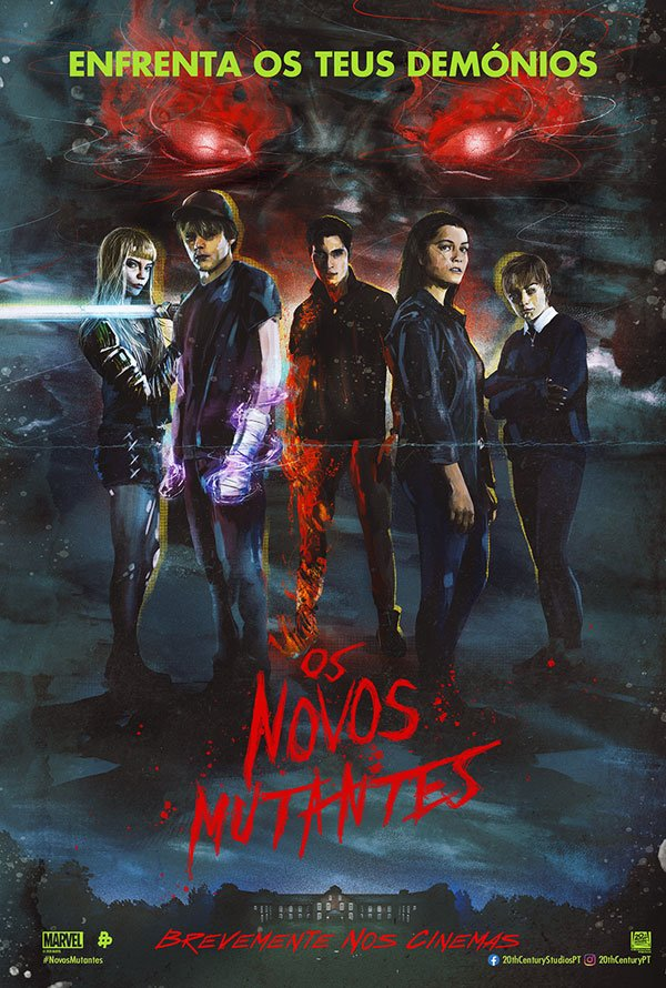 "Posters ""Os Novos Mutantes"" 1/6: The New Mutants"
