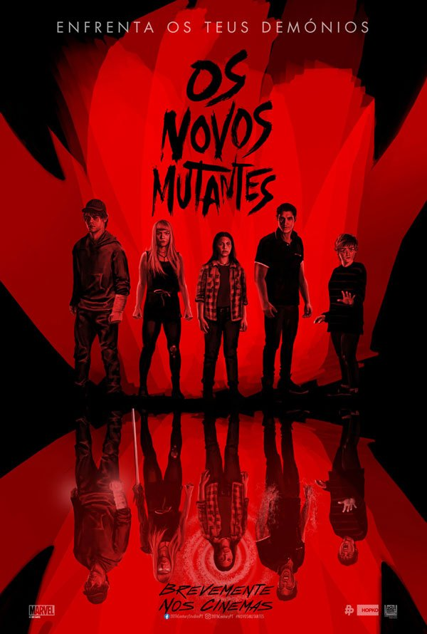 "Posters ""Os Novos Mutantes"" 2/6: The New Mutants"