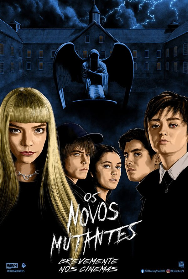 "Posters ""Os Novos Mutantes"" 3/6: The New Mutants"