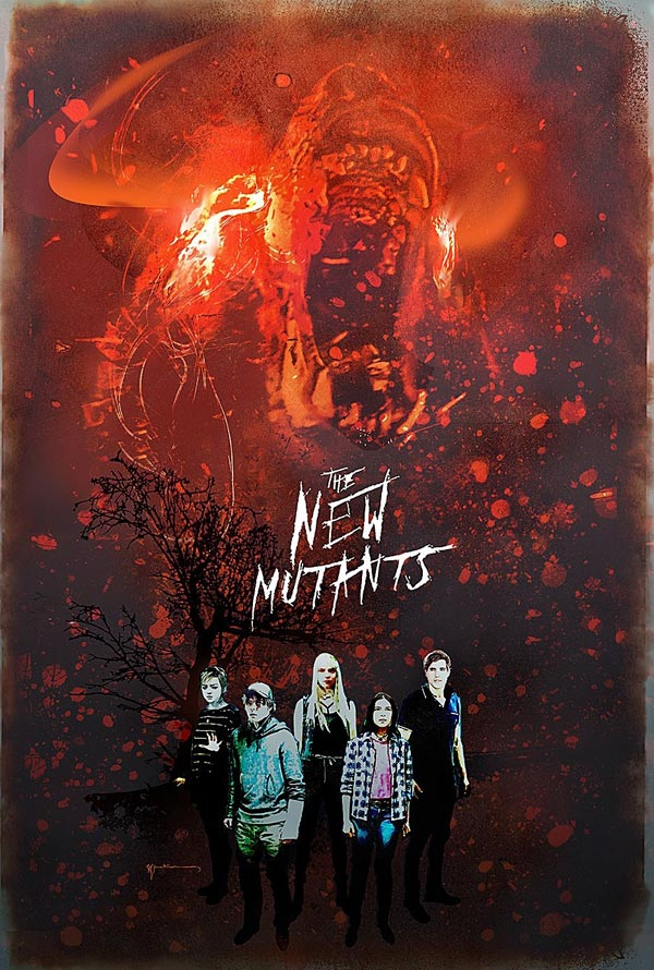 "Posters ""Os Novos Mutantes"" 6/6: The New Mutants"