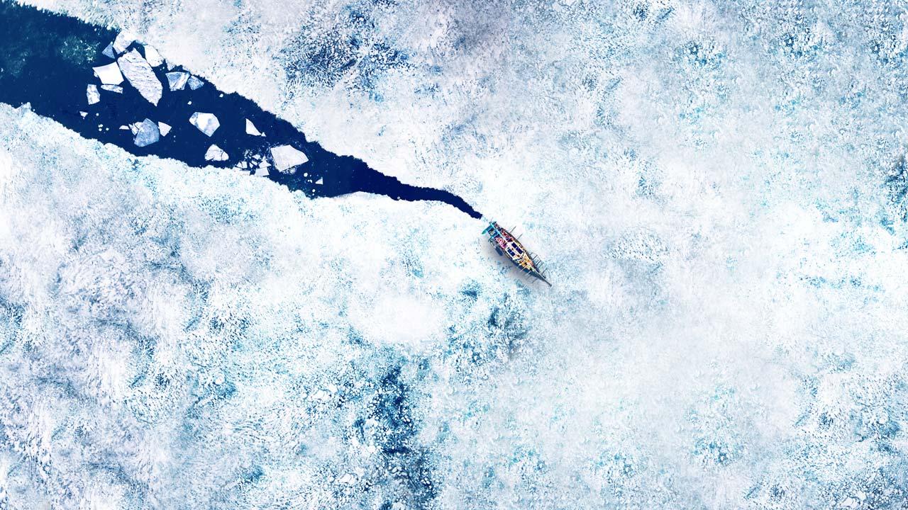 Discovery explora a lendária Passagem do Noroeste onde só os bravos conseguem navegar