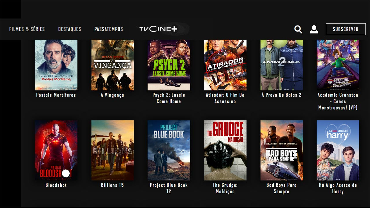 TVCine lança plataforma de streaming