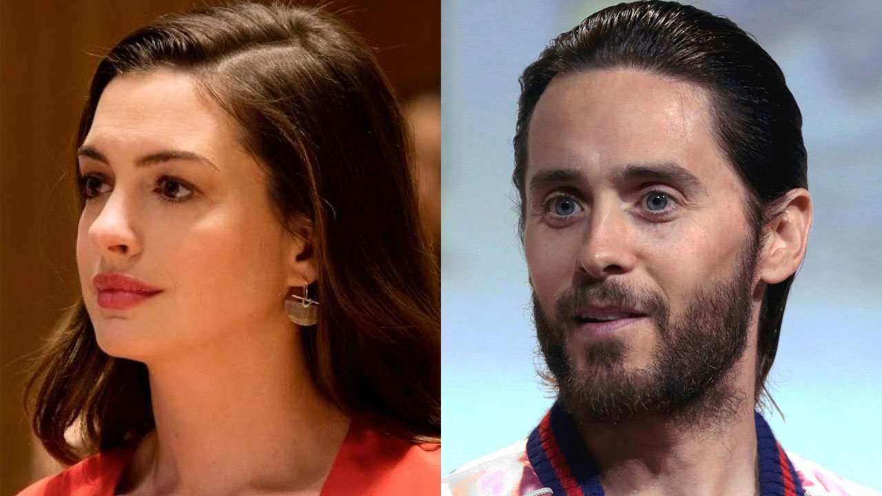 "Apple TV+ junta Anne Hathaway e Jared Leto em ""WeCrashed"""