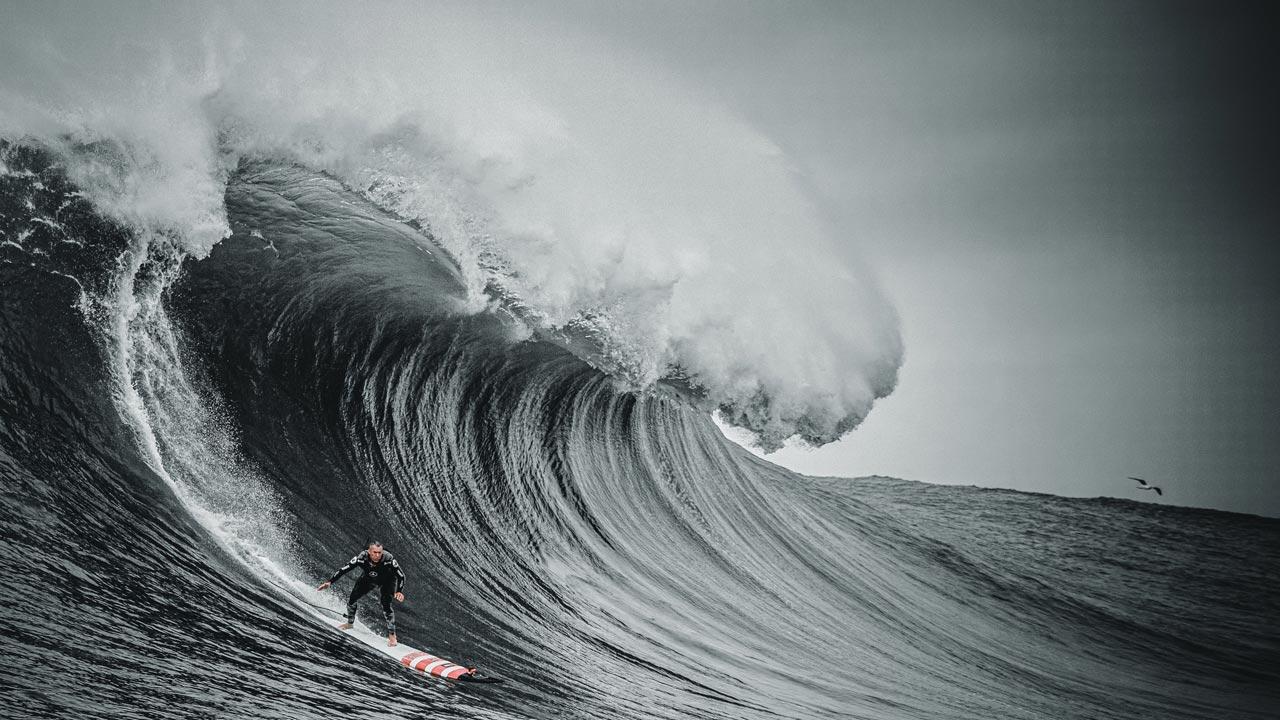 HBO e Garrett McNamara anunciam série documental sobre as ondas gigantes da Nazaré