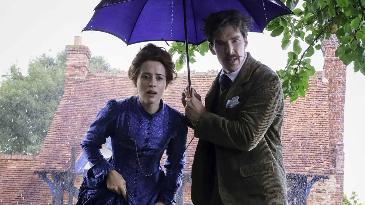 "The Electrical Life of Louis Wain 3/3: Benedict Cumberbatch e Claire Foy em ""The Electrical Life of Louis Wain"""