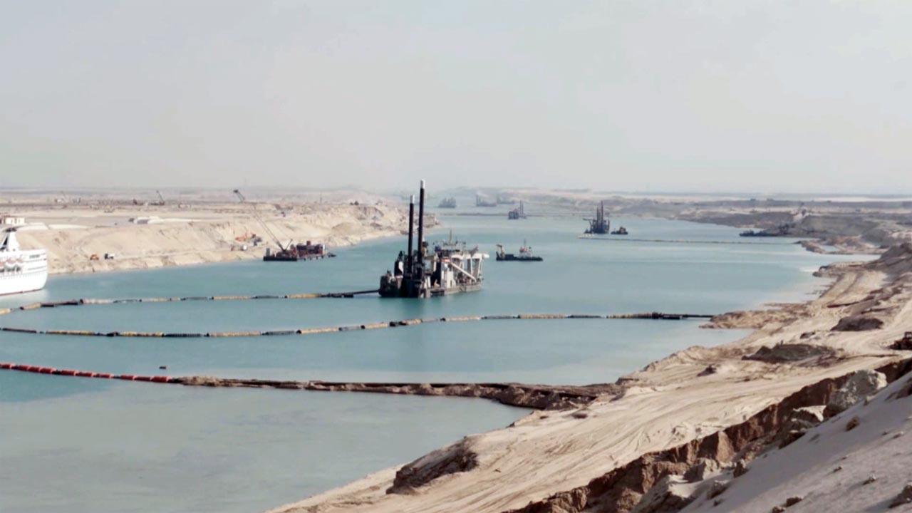 Canal do Suez explicado no Odisseia