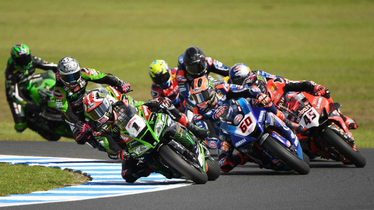 Horários das provas de Superbike em Portimão nos canais Eurosport