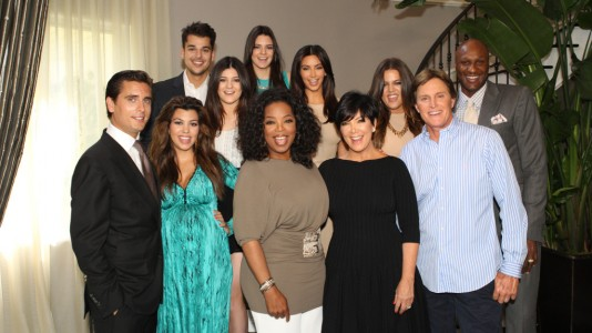 Oprah em casa dos Kardashians